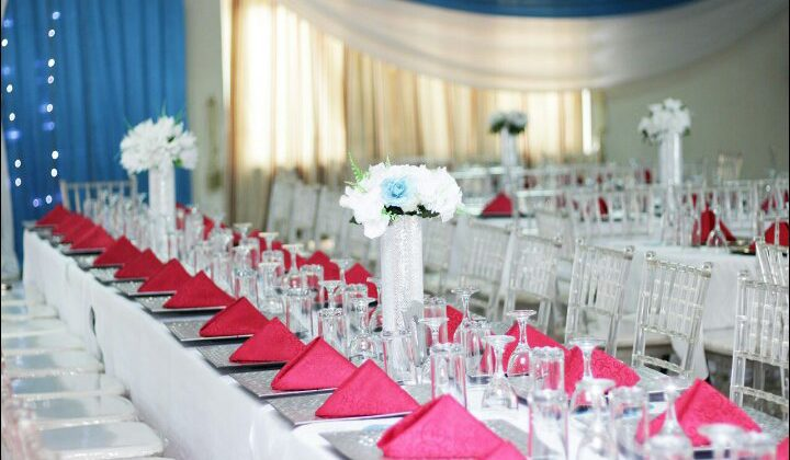 Ghana Wedding Decoration by netdecorations